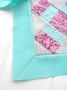Sewing Final Mitered Quilt Borders step-by-step tutorial