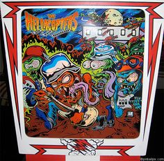 The Hellacopters Pinball (2009 Re-themed Gottlieb)