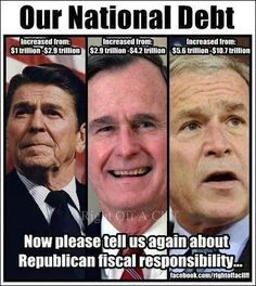 """FISCAL CONSERVATIVES  """"HELL."""""""