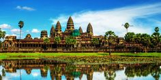 A titokzatos Angkor Wat - Angkor, a khmer templomok ősi városa Kambodzsa szívében a 9. században létrejött Khmer Királyság fővárosa volt 802–1432 között. A birodalom legnagyobb kiterjedése idején magában foglalta Csenla államot, a mai Kambodzsa síkságait, valamint a mai Laosz és Thaiföld jelentős részét és a hajdani Kokinkínát, a Mekong deltáját.