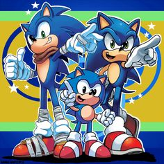 (47) sonic 26th anniversary | (even thogh I don't like boom sonic this is cool)
