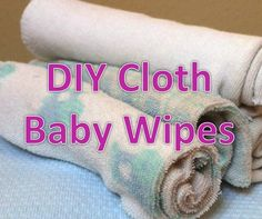 How to Make Your Own Cloth Wipes - whether you cloth diaper or use disposables, these are great (and safe) to have on hand for babies & kids.