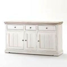 Suche Sideboard weiss recyclingholz guadiana. Ansichten 171531.