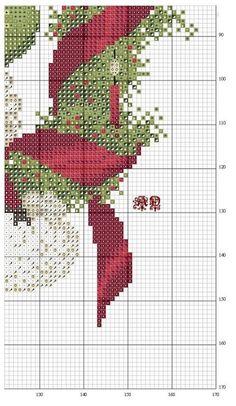 PUNTO EN CRUZ NAVIDAD PAPA NOEL SANTA (pág. 2) | Aprender manualidades es facilisimo.com