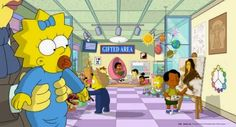 Nancy Cartwright and Yeardley Smith in The Simpsons 1990 Movies, Top Movies, Movies To Watch, Simpsons Cartoon, Pencil Test, Hollywood, Childcare, Character Design, Entertainment