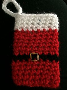 Ravelry: Gift Card Holder pattern by Kara Gunza