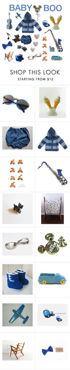 Baby Boo by seasidecollectibles on Polyvore featuring Disney, Music Notes and vintage