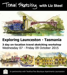 Liz Steel: Travel Sketching Workshops