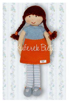 Gehäkelte Puppe / Crochet Doll *** Kuferek Bietki