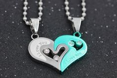 Fashion accessories: Entwined Heart Necklaces