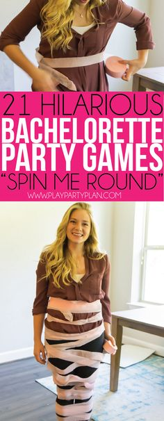 21 Hilarious Bachelorette Party Games You Need to Play Right Now - Spin me roun. - 21 Hilarious Bachelorette Party Games You Need to Play Right Now – Spin me round and round in th - Country Bachelorette Parties, Bachelorette Games, Bachelorette Weekend, Lingere Party, Party Prizes, Hen Party Games, Wedding Games, Wedding Speeches, Wedding Ideas