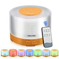 KBAYBO Remote Control Aromatherapy Diffuser with Color Changing Lights