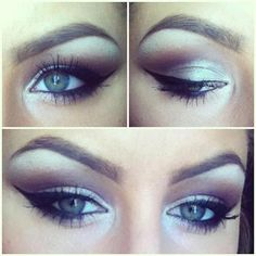 Cat eye liner, no lashes by ChrisspyMakeup. This is an old instagram photo of mine, I guess someone reposted it somewhere