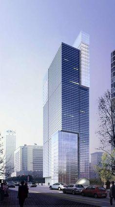 Shanghai Grand Center by Skidmore Owings & Merrill (SOM) :: 41 floors, height 170m