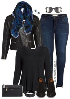 Nordstrom Anniversary Sale Outfits - Plus Size Fall Outfit - Plus Size Fashion for Women - alexawebb.com #alexawebb
