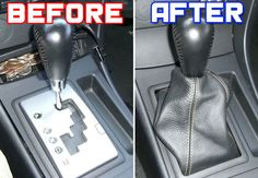 HOW TO: Install Shift Boot On Automatic Mazda 3