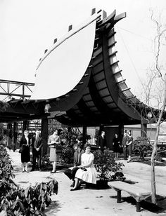 Information booth at World's Fair, 1962