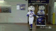 The Mets are packing for warmer weather!