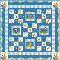 Bazooples™ Nursery Quilt   Project Sheets   Springs Creative