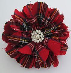 Scottish Tartan Brooch, Plaid, Scottish Brooch, Red Tartan Corsage, Royal Stewart Brooch, Wedding Corsage, Ceilidhs, Burns Supper by AwfyBrawJewellery on Etsy https://www.etsy.com/uk/listing/289916611/scottish-tartan-brooch-plaid-scottish
