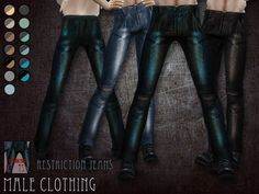 Restriction jeans by RemusSirion at TSR