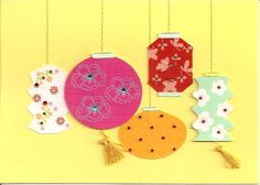 Clever Card -paper lanterns