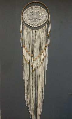 I pinspiration to make me a dream catcher out of a loop and yarn. I think they have feathers at Walmart.