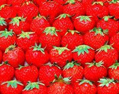 Fresas para la piel