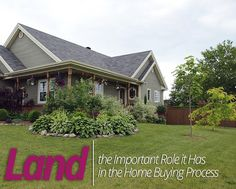 How Important is the #Land Surrounding that #Home for Sale? #househunting