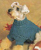 cableddogsweater - free crochet pattern