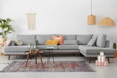 Sofa Furniture, Furniture Sets, Furniture Design, Small Apartment Living, Living Spaces, Best Corner Sofa, U Couch, Diy Interior, Interior Design