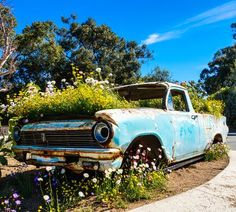 Vintage Flower's car Photo by Matteo Rossi -- National Geographic Your Shot