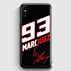 Marc Marquez Mm 93 Motogp Champion Repsol iPhone XS Case | Casescraft Marc Marquez, Motogp, Supreme, Champion, Helmet, Motorcycle, People, Beauty, Products
