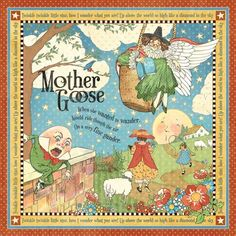 The signature page of Mother Goose, a new paper collection from Graphic 45