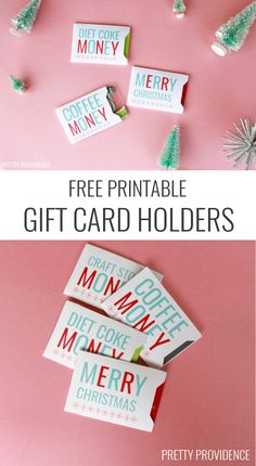These Christmas gift card holders are fun, FREE and will make any gift card more personal! MichaelsMakers Pretty Providence