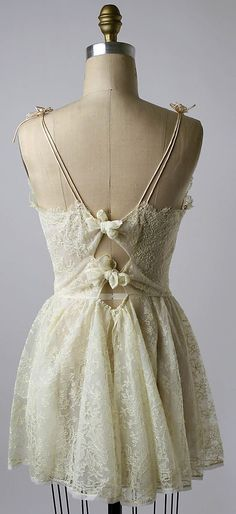 Lace Nightgown ca. 1956