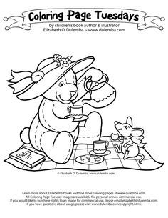 Teddy Bear Coloring Pages Theme | Free Printable Teddy Bear Coloring ...