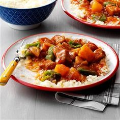 Slow Cooker Sweet-and-Sour Pork