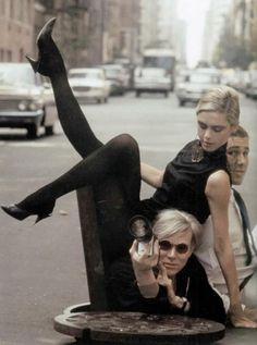 Edie Sedwick & Andy Warhol