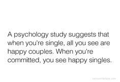 Psychology study fact