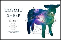 Cosmic Sheep, Clipart Commercial use, Sheep clipart graphics, Sheep Clipart digital clip art, Digital images -  #  lamb # agriculture # animal # aries # art # astrology # astronomy # black # cattle # chinese # collection # cute # domestic # farm # farmer # field # flock # fur # grass # life # mammal # meadow # meal # meat # milk # nature # nurse # pasture # pets # ram # set # skin # wild # wildlife # wool # young # zodiac #hair #holiday #sheep #silhouette