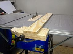 Holz und Metall - Ein Heimwerkerblog: Parallelanschlag für Tischkreissäge