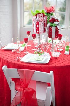 Red has a festive vibrancy with a genuine wow factor.: