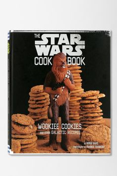 Wookiee Cookies: A Star Wars Cookbook by Robin Davis. Full of everything from snacks to main dishes worthy of The Force. #urbanoutfitters
