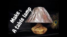 Woodturning a table lamp  / Κατασκευή φωτιστικού στον ξυλότορνο !