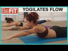 Yogilates Flow Workout from BeFiT Trainer Open House with Sloan Rabinor is a 18 min, Yoga/Pilates hybrid routine that features a flowing collection of body-s...