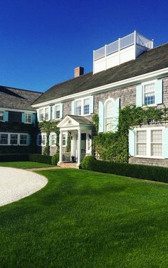 Tommy Hilfiger's Nantucket home.