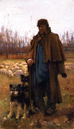 The Athenaeum - The Shepherd (Arthur Melville - No dates listed)