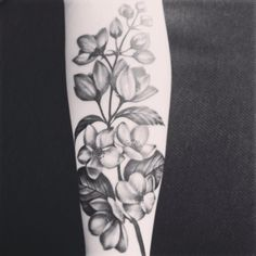 My jasmine flower tattoo! My jasmine flower tattoo! Arm Tattoos, Love Tattoos, Beautiful Tattoos, Body Art Tattoos, Tatoos, Real Tattoo, Tattoo You, Jasmin Tattoo, Jasmine Flower Tattoos
