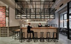 Holy Fox bar and restaurant by WowHaus, Moscow   Russia restaurant bar